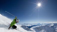 Alpy w deszczu i śniegu. Z wyjątkiem dwóch kurortów