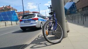 """Rowerzysta zderzył się z autem. """"Był pod wpływem alkoholu"""""""