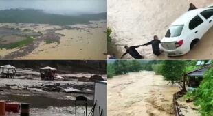 Skutki niebezpiecznych powodzi w Turcji