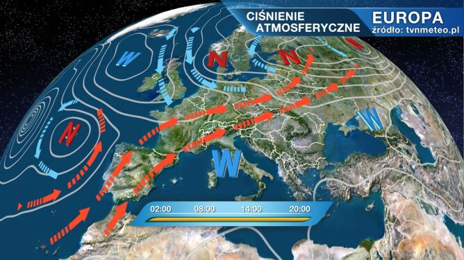 Niż Quentin wpłynie na pogodę w Polsce