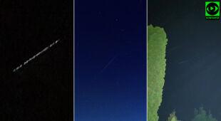 Konstelacja Starlink na niebie